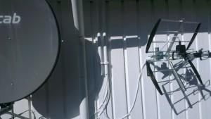 Parabol och antenn